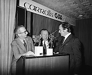 13.11.1973 Crawford Reception & Presentation at Tara Towers Hotel