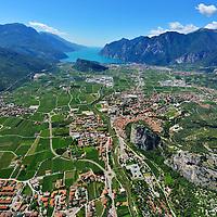 Garda Trentino aerial