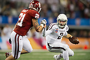 Johnny Manziel during the AT&T Cotton Bowl on January 4, 2013 at Cowboys Stadium in Arlington, Texas.
