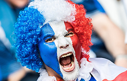 19.06.2016, Stade Pierre Mauroy, Lille, FRA, UEFA Euro, Frankreich, Schweiz vs Frankreich, Gruppe A, im Bild Frankreich Fan // France Supporter during Group A match between Switzerland and France of the UEFA EURO 2016 France at the Stade Pierre Mauroy in Lille, France on 2016/06/19. EXPA Pictures © 2016, PhotoCredit: EXPA/ JFK