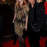 NLD/Amsterdam/20121112 - Beau Monde Awards 2012,Robert Schoemacher en partner Claudia van Zweden