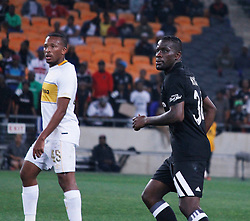 Lehlohonolo Majoro and Ntsikelelo Nayuza of Orlando Pirates in a match between Orlando Pirates  and Cape Town City at  Fnb Stadium on Tuesday September 19, 2017.