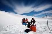 Sweden ski touring, Fjällnäs