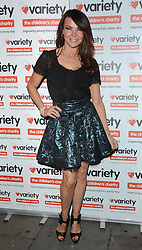 Lizzie Cundy attends at 'I Love A Bit of Variety' fundraising party in aid of Variety, The Childrens Charity at Press Nightclub, Whitcomb Street, London on Thursday 26.3.2015