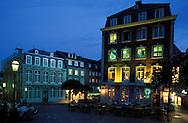 DEU, Germany, Aachen, house at the Huehnermarkt, in the background the Couven Museum....DEU, Deutschland, Aachen, Haus am Huehnermarkt, im Hintergrund das Couvenmuseum. ........