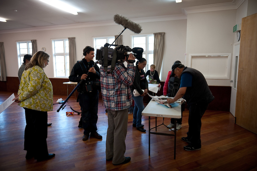Brooklyn Community centre cooking..Photo by Mark Tantrum.