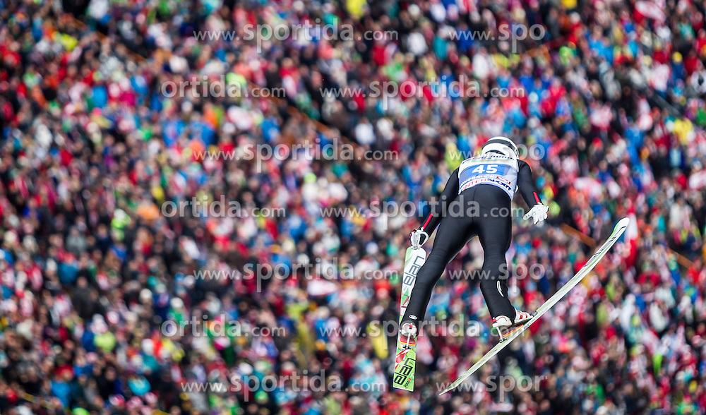 04.01.2014, Bergisel Schanze, Innsbruck, AUT, FIS Ski Sprung Weltcup, 62. Vierschanzentournee, Bewerb, im Bild Mackenzie Boyd-Clowes (CAN) // Mackenzie Boyd-Clowes (CAN) during Competition of 62nd Four Hills Tournament of FIS Ski Jumping World Cup at the Bergisel Schanze, Innsbruck, Austria on 2014/01/04. EXPA Pictures © 2014, PhotoCredit: EXPA/ JFK