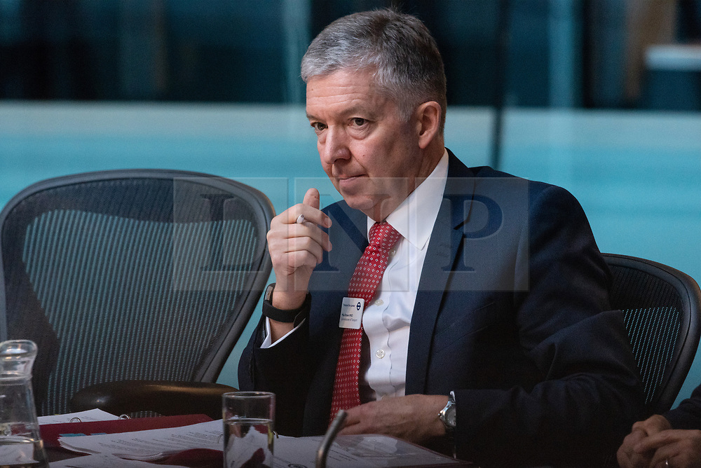 © Licensed to London News Pictures. 21/12/2018. London, UK. Mike Brown MVO, TfL Commissioner appears before the London Assembly to answer questions when he knew of the Crossrail launch delay. Photo credit: Ray Tang/LNP