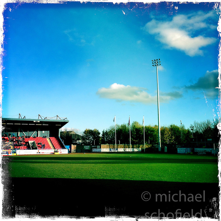 Stirling Albion..Hipstamatic images taken on an Apple iPhone..©Michael Schofield.