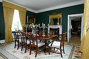 2/4/2002 .Sunday Times Property.The dining room at Mount Loftus in Kilkenny..Picture Dylan Vaughan