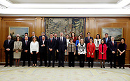 011320 King Felipe VI attends the oath of the new Ministers of Spanish Goberment