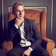 Portrait of Interior designer Grant Bushell at The Wolverhampton Grand Theatre