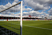 View of the Dagenham Stadium before the Sky Bet League 2 match between Dagenham and Redbridge and Newport County at the London Borough of Barking and Dagenham Stadium, London, England on 19 September 2015. Photo by Bennett Dean.