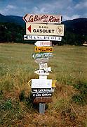 Lettres et signes, Lettern und Zeichen. © Romano P. Riedo
