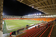 Bloomfield Road during the Sky Bet League 1 match between Blackpool and Oldham Athletic at Bloomfield Road, Blackpool, England on 16 February 2016. Photo by Pete Burns.