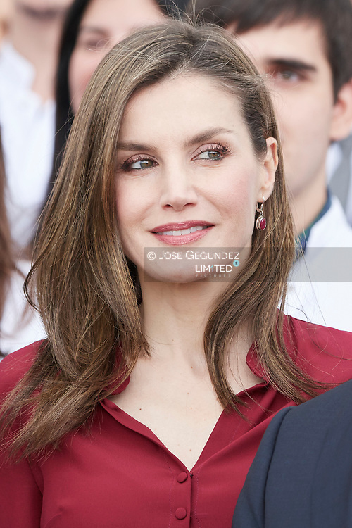 Queen Letizia of Spain attended 25th anniversary of the National Center for Food Technology and Security (CNTA) on June 6, 2017 in San Adrian, Navarra, Spain