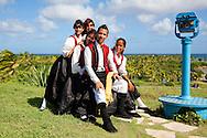 Dancers at Fiesta de la Cultura de Iberoamerica in Bariay, Holguin, Cuba.
