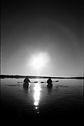 Kayakers (MR 686, 684) near Hilton Head, South Carolina.