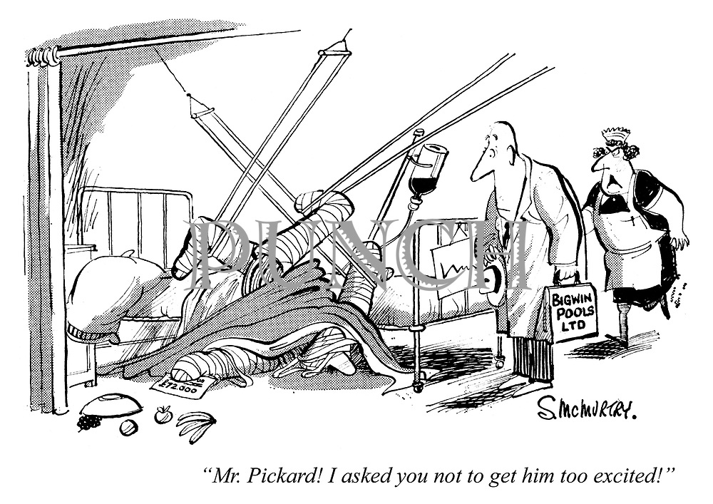 """""""Mr Pickard! I asked you not to get him too excited!"""""""