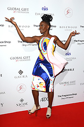 Shingai Shoniwa attending the 9th Annual Global Gift Gala held at the Rosewood Hotel, London. Picture date: Friday November 2nd 2018. Photo credit should read: Matt Crossick/ EMPICS Entertainment.