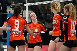 20180331 NED: Eredivisie Sliedrecht Sport - Regio Zwolle, Sliedrecht <br />Ester de Vries (5) of Regio Zwolle <br />©2018-FotoHoogendoorn.nl / Pim Waslander