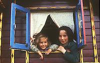 Gypsies (travellers) in England.
