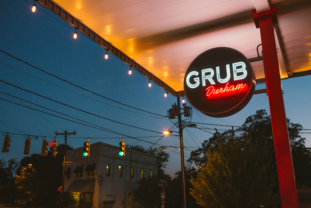 Grub Durham, 1200 W Chapel Hill St, Durham, NC, July 7, 2017. Photo by D.L. Anderson