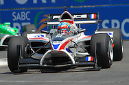 DURBAN, South Africa, Team France's Loic Duval  (3rd 1:18:495) during the third practice session held as part of the A1GP race weekend in Durban, South Africa on Saturday 23 February 2008.  Photo: SportsPics/SPORTZPICS