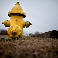 Strange locations of fire hydrants at Sandy Hook National Gateway Recreation Area New Jersey.