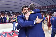 Edoardo Casalone, Giorgio Gerosa<br /> Umana Reyer Venezia - Banco di Sardegna Dinamo Sassari<br /> Legabasket LBA Serie A Postemobile 2018-2019 Finale Playoff Gara 7<br /> Sassari, 22/06/2019<br /> Foto L.Canu - Ciamillo-Castoria