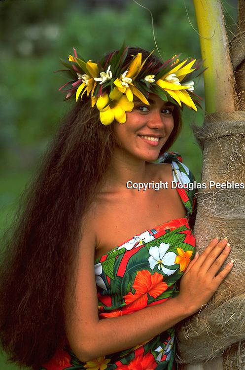 Polynesian Woman, French Polynesia<br />