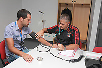 20100628: LISBON, PORTUGAL - SL Benfica starts 2010/2011 season. The players did the usual medical tests. In picture: Fabio Faria. PHOTO: CITYFILES