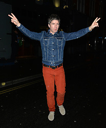 Noel Gallagher leaving the Groucho Club in Soho, London, UK. 12/12/2104<br />BYLINE MUST READ : GOTCHAIMAGES.COM<br /><br />Copyright by © Gotcha Images Ltd. All rights reserved.<br />Usage of this image is conditional upon the acceptance <br />of Gotcha Images Ltd, terms and conditions available at<br />www.gotchaimages.com
