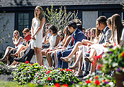 SHOT 6/2/16 9:46:50 AM - Colorado Academy Class of 2016 Commencement ceremonies at the Denver, Co. private school. The school graduated 88 seniors this year and the event capped a week filled with awards, tributes, and celebrations for the outgoing senior class. (Photo by Marc Piscotty / © 2016)