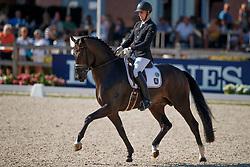 Wandres Frederic, GER, Zucchero<br /> World ChampionshipsYoung Dressage Horses<br /> Ermelo 2018<br /> © Hippo Foto - Dirk Caremans<br /> 02/08/2018