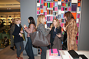 Smythson Sloane St. Store opening. London. 6 February 2012.