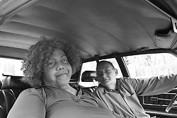 Looking Back. Miss Major, Stonewall Rebellion Survivor with her friend since 1963, activist Jay Toole. Oakland CA. 2013