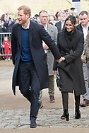 18.01.2018; London, England: MEGHAN MARKLE AND PRINCE HARRY VISIT CARDIFF<br /> to observe the rich culture and heritage of Wales, and to learn more about some of the organisations working in communities across the country. <br />