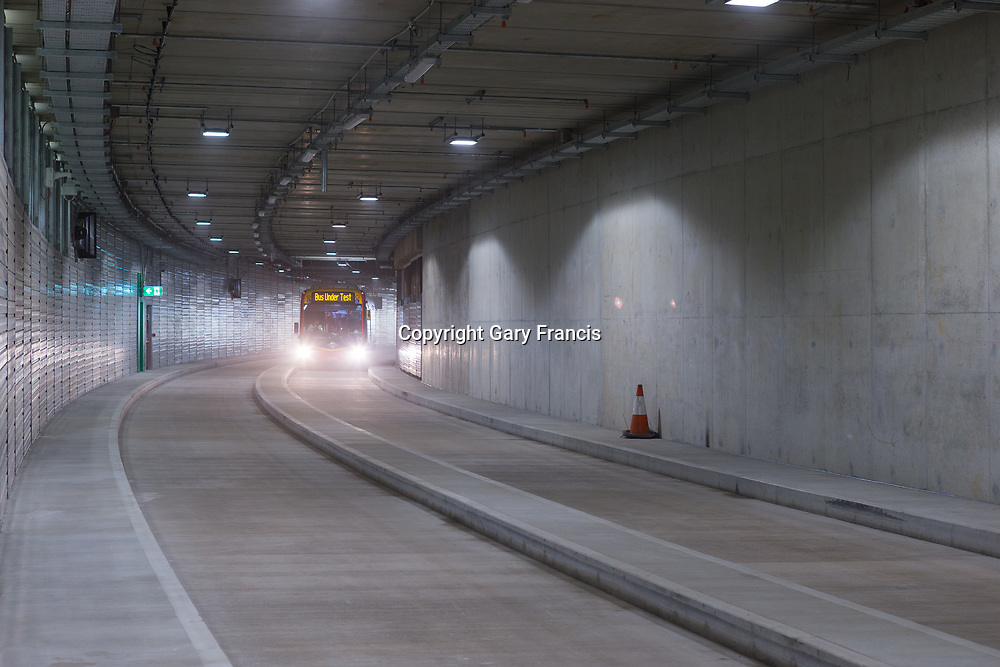 O-Bahn City Access Project construction by MacDow, Adelaide, Australia - images taken on 14 Oct 17
