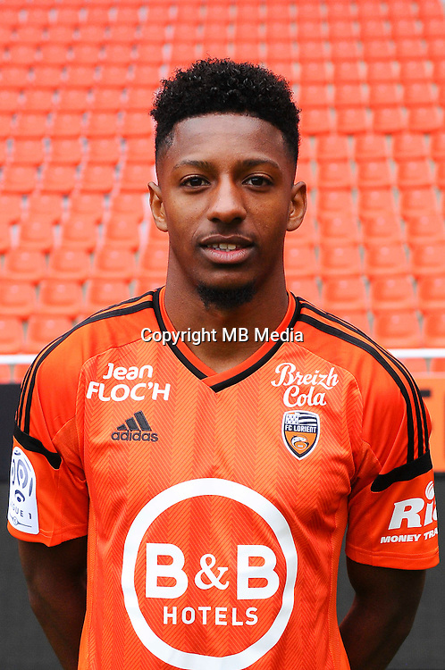 Steven Moreira during the Fc Lorient photocall for the season 2016/2017 in Lorient on September 16th 2016<br /> Photo : Philippe Le Brech / Icon Sport
