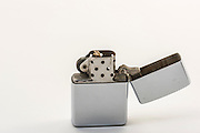 This Zippo appears not to have been used and was among the belongings of Wayne Hayes.