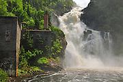 Ouiatchouan Falls<br /> Val-Jalbert<br /> Quebec<br /> Canada