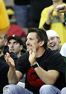 15 FEBRUARY 2007: Dallas Clark (TE - Indianapolis Colts) attends Iowa's 66-58 win over Northwestern at Carver-Hawkeye Arena in Iowa City, Iowa on February 15, 2007.