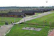 Birkenau Death Camp, Poland, barracks.