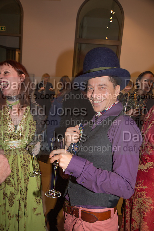 JULIE CARTER; OGGY YORDANOV, Isabella Blow: Fashion Galore! private view, Somerset House. London. 19 November 2013