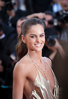 Izabel Goulart at the gala screening for the film The Last Face at the 69th Cannes Film Festival, Friday 20th May 2016, Cannes, France. Photography: Doreen Kennedy