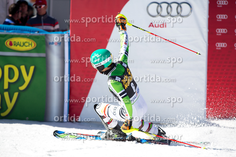 NEUREUTHER Felix of Germany during the 2nd Run of Men's Slalom - Pokal Vitranc 2014 of FIS Alpine Ski World Cup 2013/2014, on March 9, 2014 in Vitranc, Kranjska Gora, Slovenia. Photo by Matic Klansek Velej / Sportida