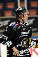 17.9.2014, Ritari Areena, Hämeenlinna.<br /> Jääkiekon SM-liiga 2014-15. Hämeenlinnan Pallokerho - Oulun Kärpät.<br /> Lasse Kukkonen - Kärpät