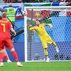 Hugo Lloris of France during the Semi Final FIFA World Cup match between France and Belgium at Krestovsky Stadium on July 10, 2018 in Saint Petersburg, Russia. (Photo by Anthony Dibon/Icon Sport)
