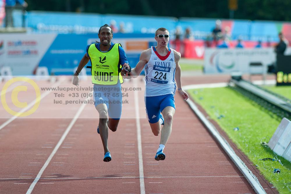 Timothee Adolphe, 2014 IPC European Athletics Championships, Swansea, Wales, United Kingdom